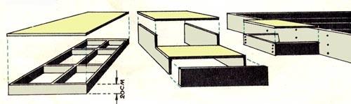 каркасный подиум