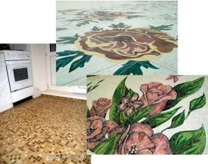 Использование мозаики