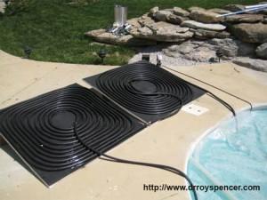 Бассейн с солнечным подогревом