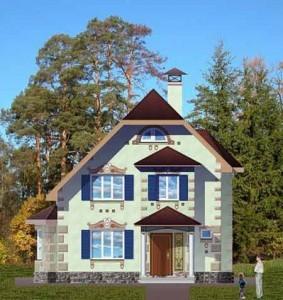 красивый уютный дом