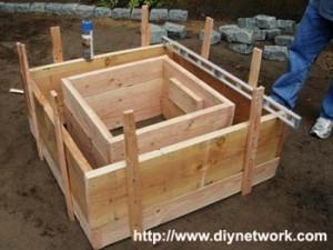 строительство очага