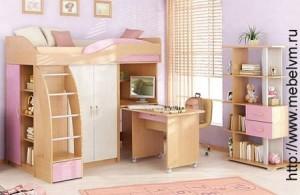 обустроить детскую комнату