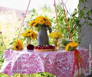 подвесной столик