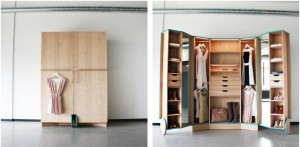 шкаф для маленькой комнаты