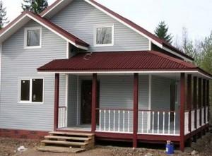 деревянные щитовые дома