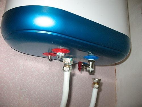 отсоединить электрический водонагреватель