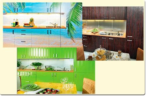 как обновить фасад кухни