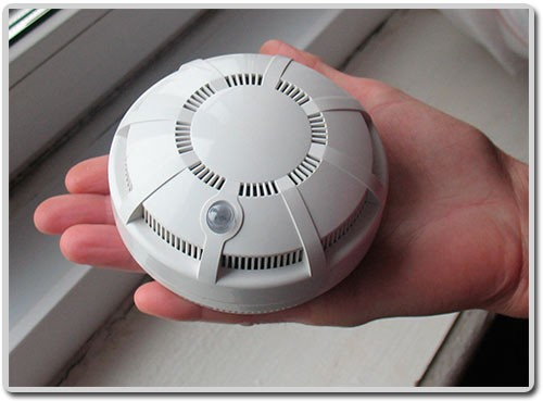 установить датчик пожарной сигнализации