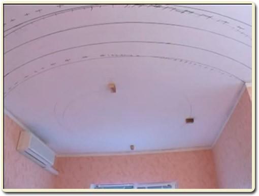 эскиз потолка