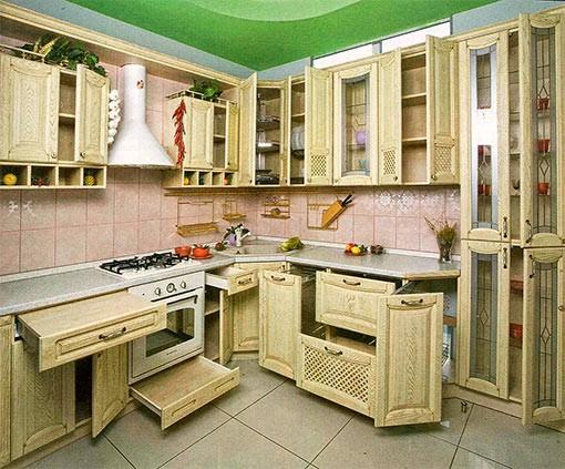 уникальный кухонный гарнитур