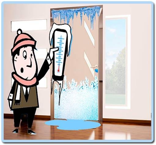 утепление входной металлической двери