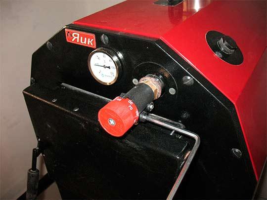 установка и настройка регулятора тяги