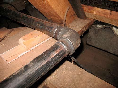 монтаж труб с резьбовым соединением