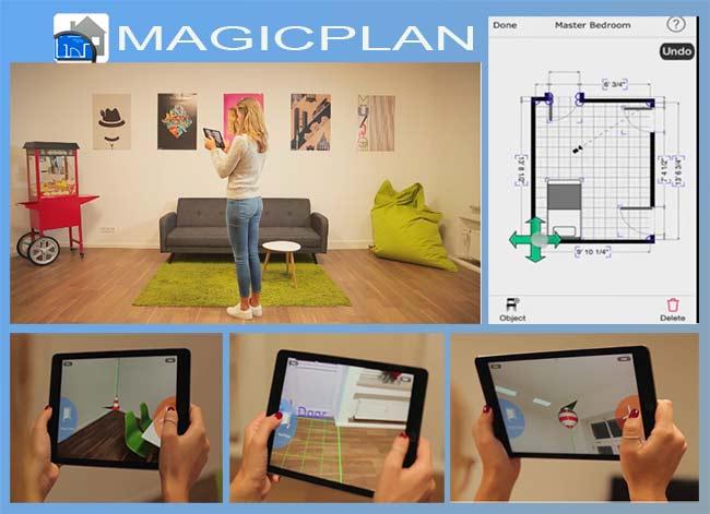 приложение MagicPlan