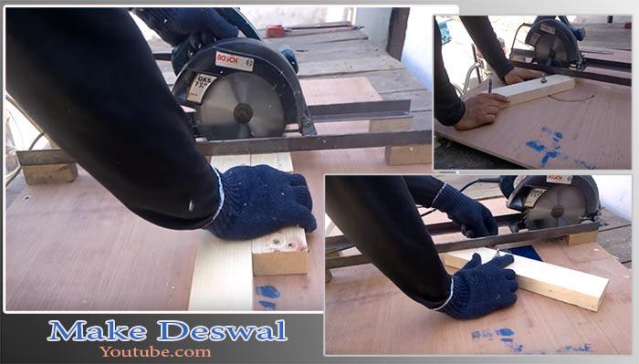 платформа для дисковой пилы