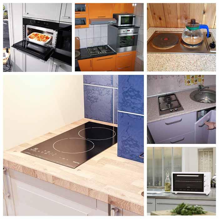 варочная панель для маленькой кухни