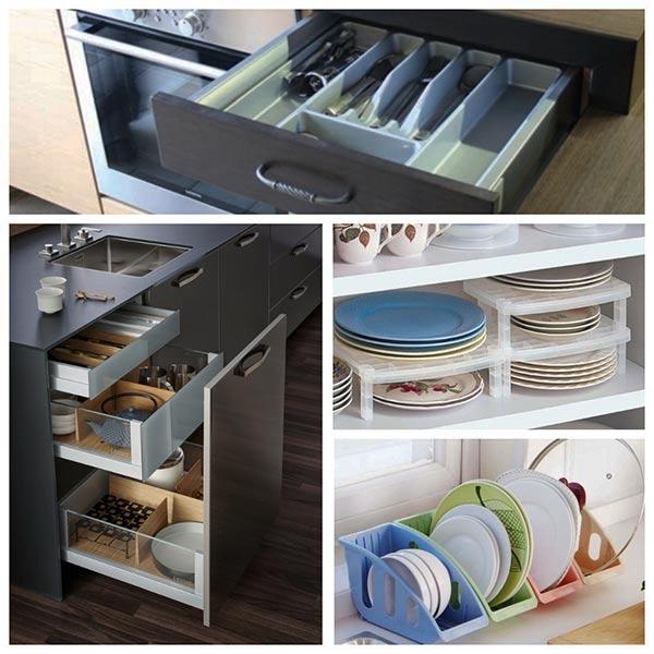 контейнеры для кухонных ящиков