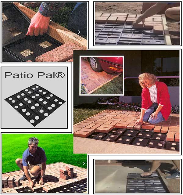 система Quick Brick Patio