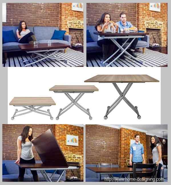 столик с регулируемой высотой