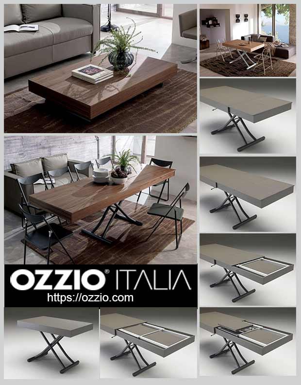журнальный столик Ozzio Newood