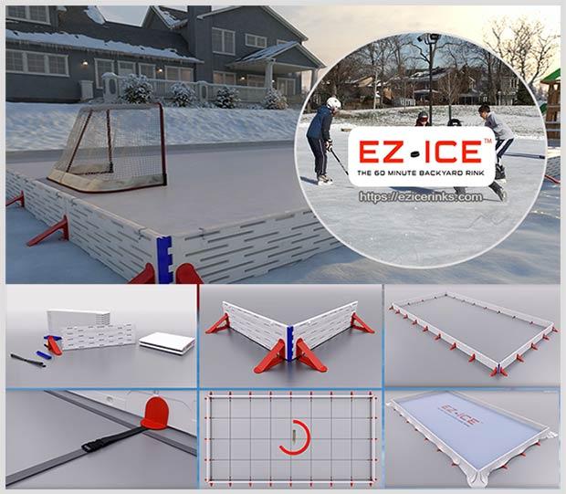 хоккейная коробка EZ Ice