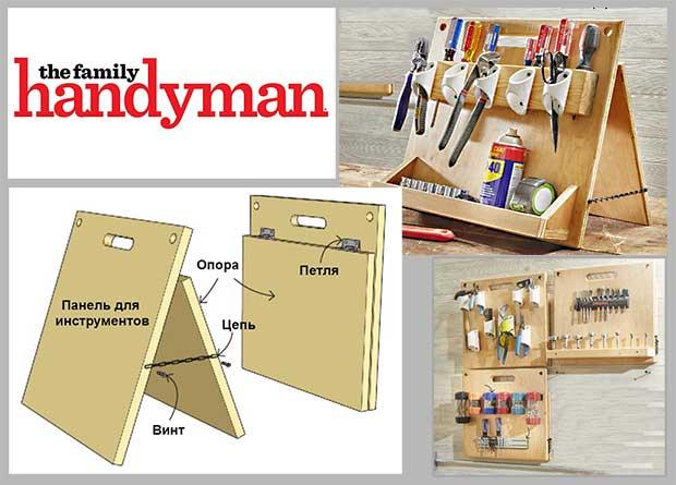 Органайзер для инструментов и крепежа