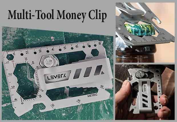 Multi-Tool Money Clip
