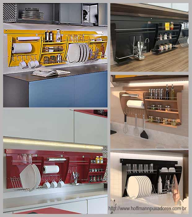 стильные кухонные полки