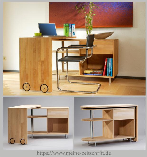 изготовить мебель с поворотной столешницей