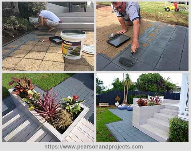 обновить садовую дорожку