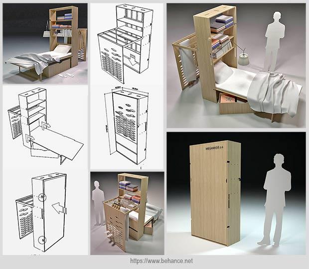 вариант мебели-трансформера