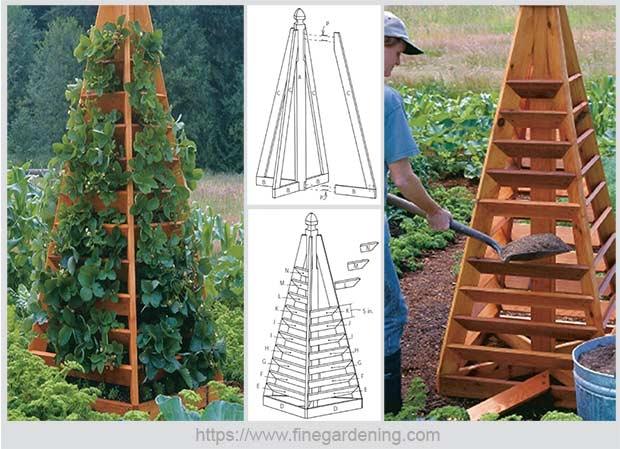 деревянный плантатор