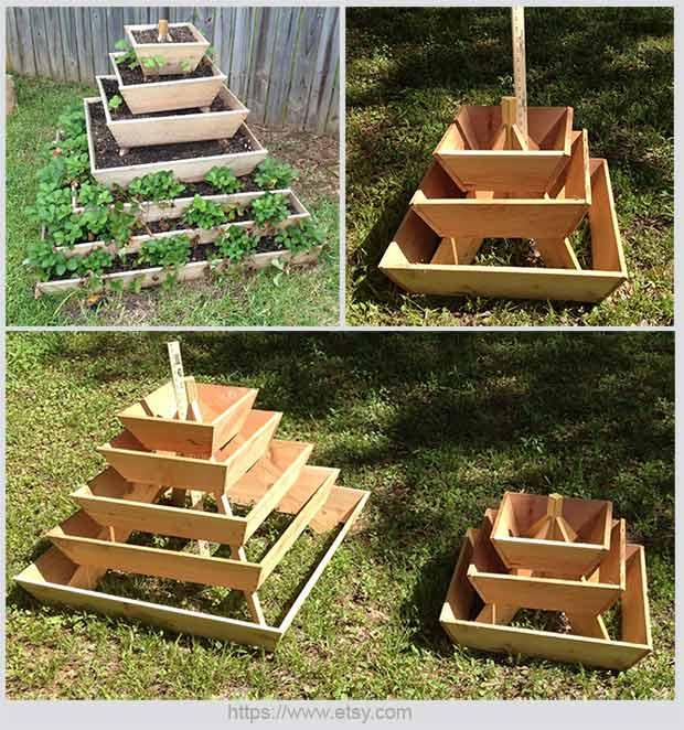 пирамида для сада