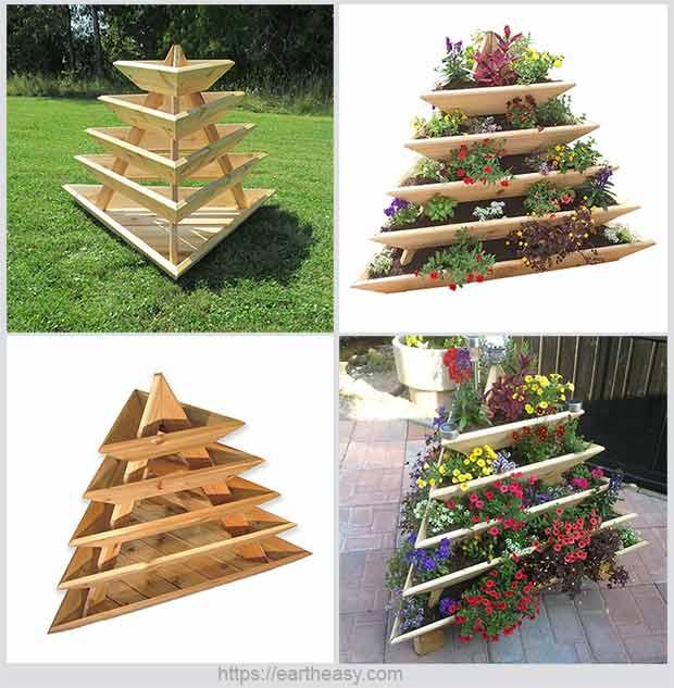 сделать пирамиду