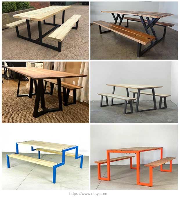 садовые столы для пикника