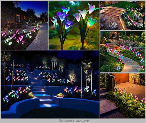 цветочные светильники