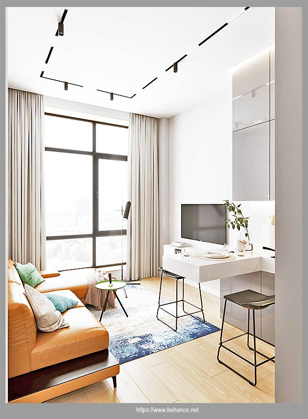 проект для квартиры-студии