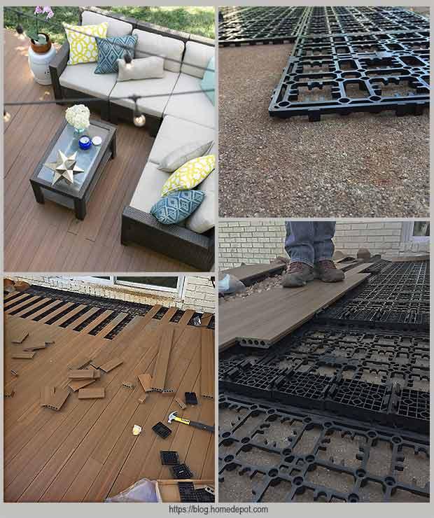 напольное покрытие Deck-a-Floor