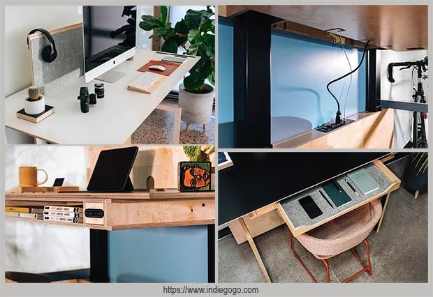 офисный стол с подъемной столешницей