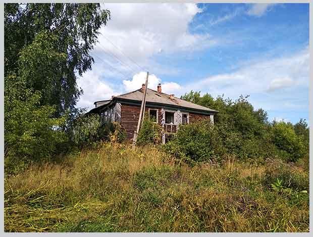 бывшая деревенская школа
