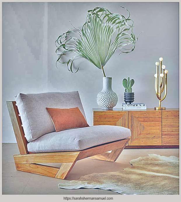 садовое кресло с подушками
