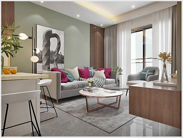 мебель в небольшом помещении