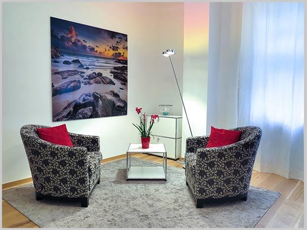 обстановка гостиной минимализм