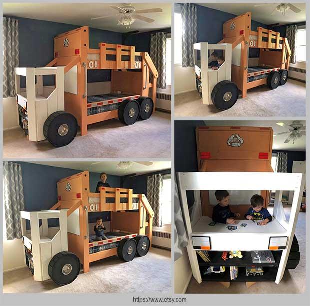 кровать грузовик