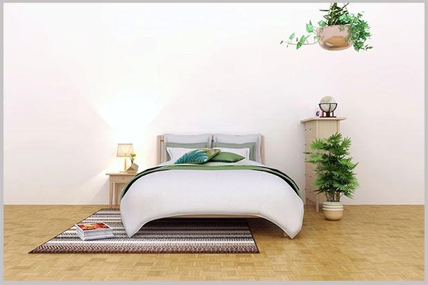 коврик в спальне