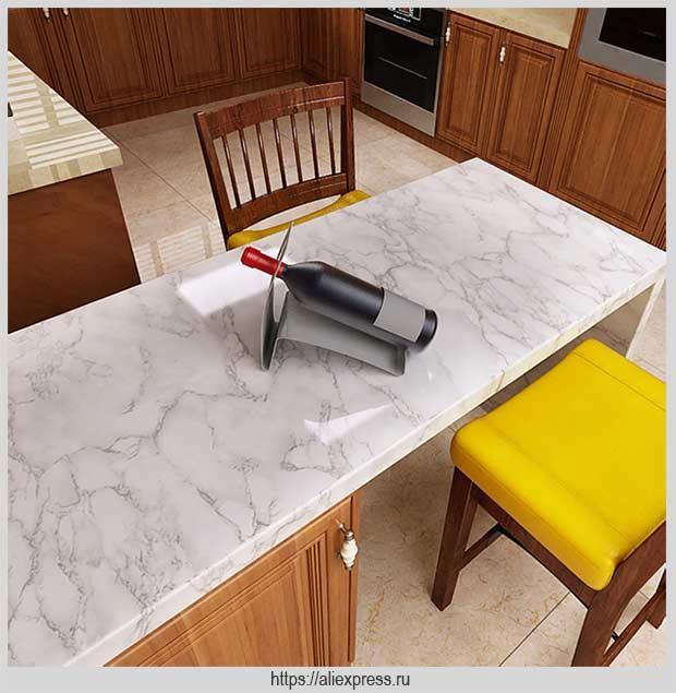 самоклеящаяся пленка на кухне