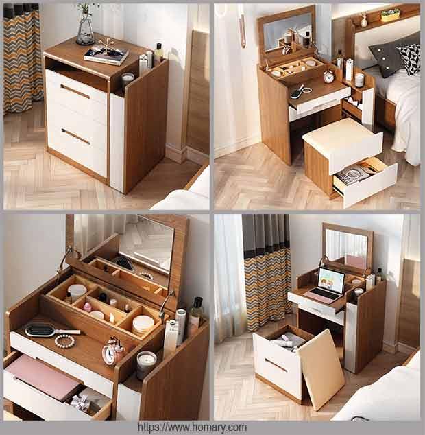 компактный туалетный столик
