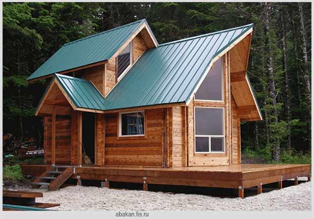 строительство небольшого домика