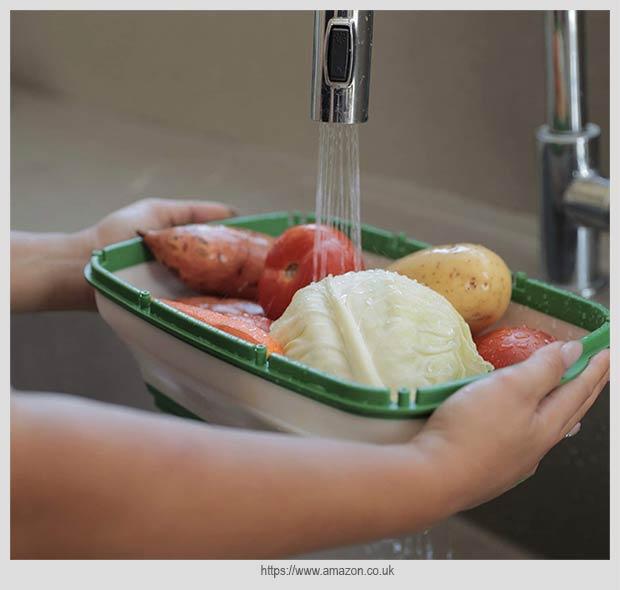 дуршлаг для мытья овощей и фруктов