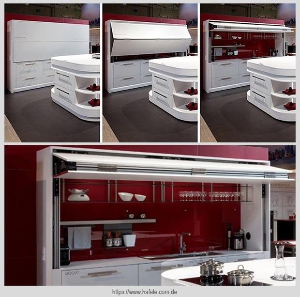 кухня за фасадом